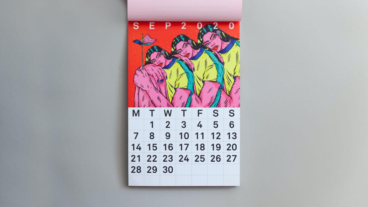 Shevolution Bloody Yes calendar