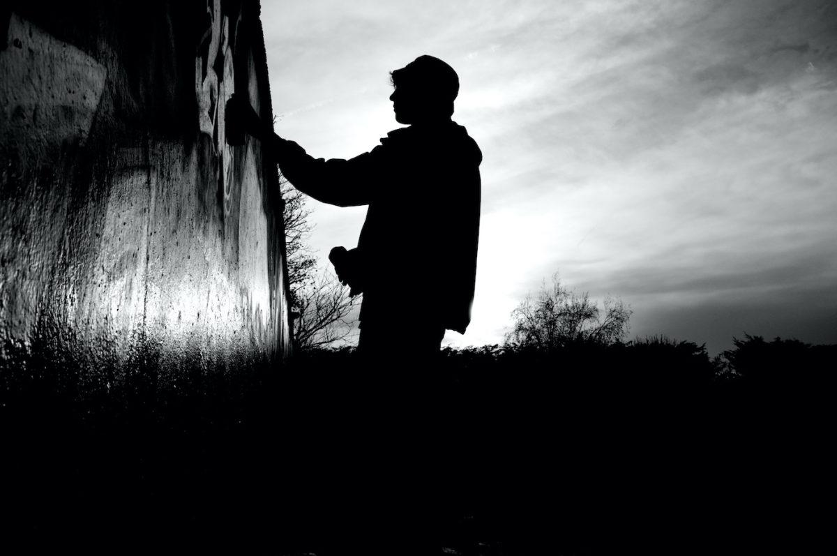 Graffiti writer on Thursday 3 December 2015 in London, England. © Marc Vallée