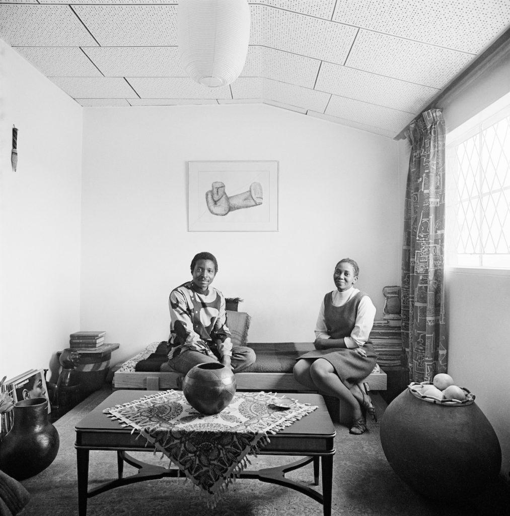 David Goldblatt Makana Tshabalala and Ntsiki Kabane, Rockville, Dube, Soweto, 1970 © David Goldblatt, courtesy Goodman Gallery