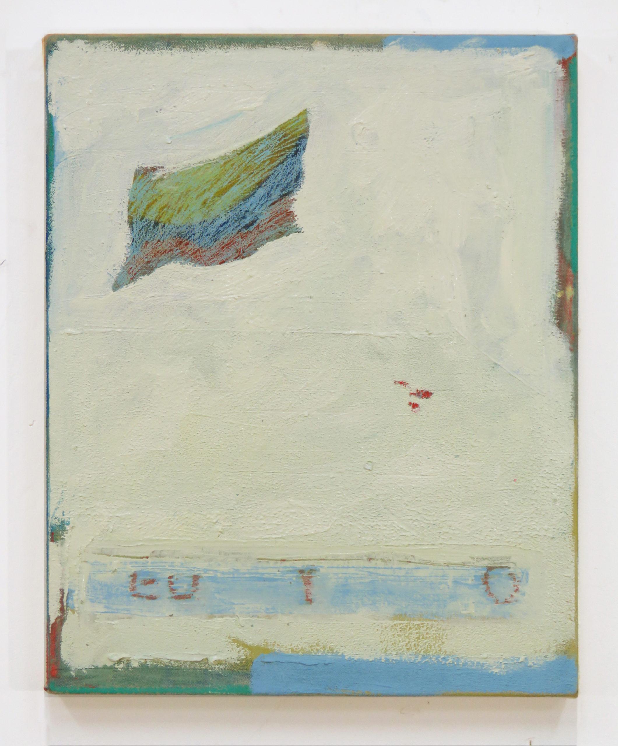 Bandera, 2019, Oil on canvas, 51x 41cm