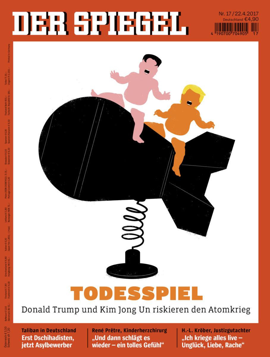 Der Spiegel North Korea final COVER