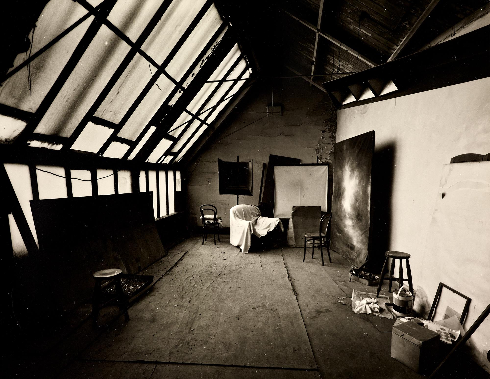 The inside of Belle Vue Studios