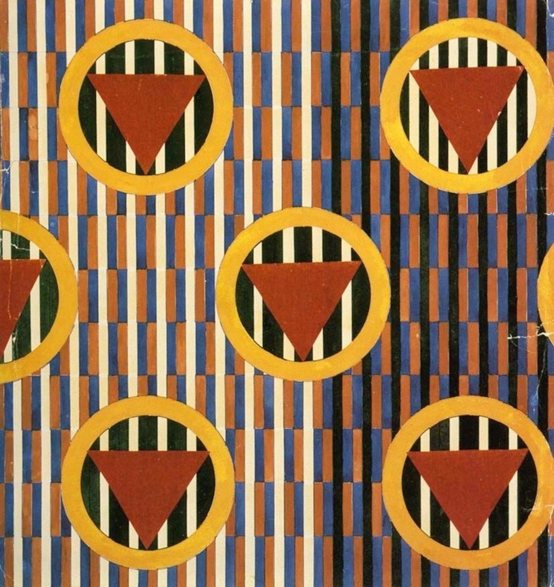 Lyubov Popova, Textile design (early 1920s) (3)