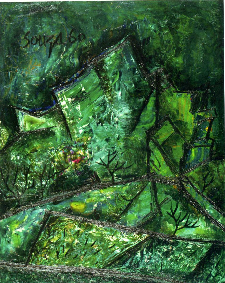Green Landscape, FN Souza