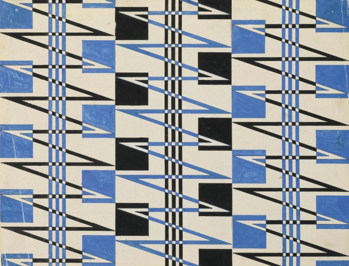 Varvara Stepanova, Textile Design (1924) (3)