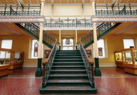 Industrial gallery stairs © Birmingham Museum & Art Gallery