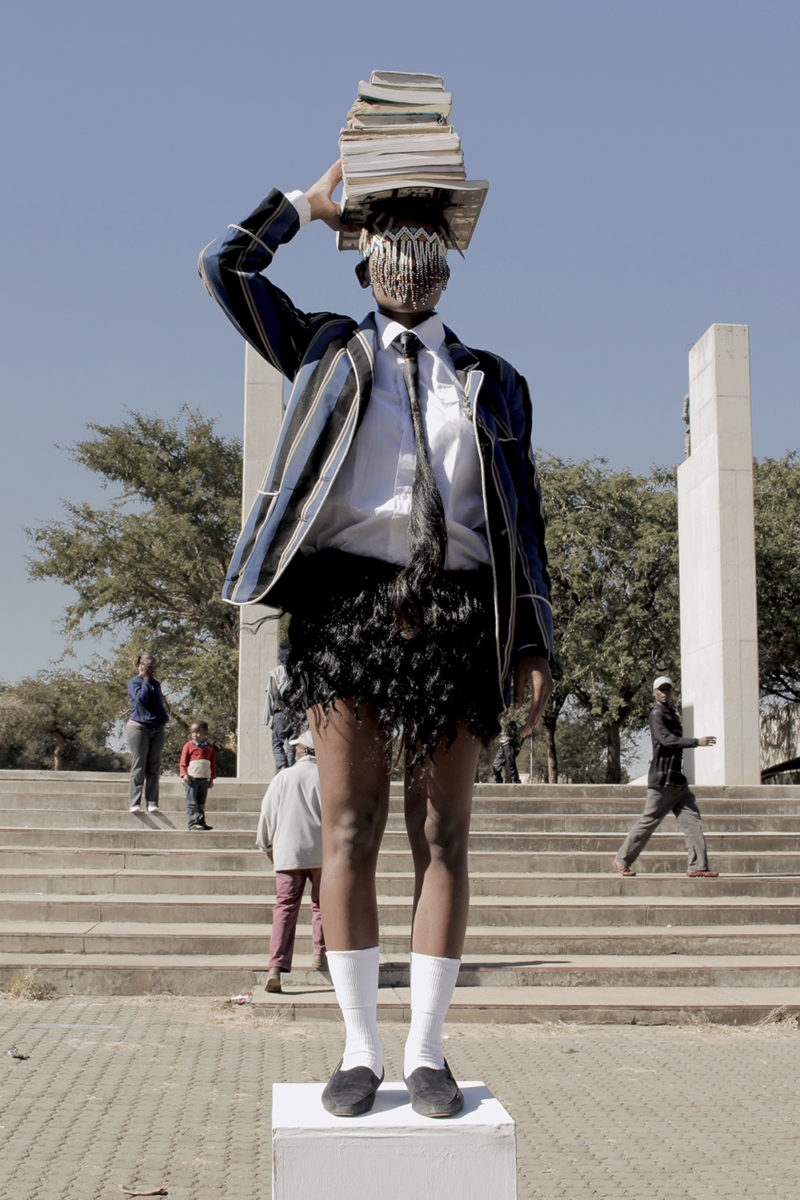 Sethembile Msezane, Untitled (Youth Day) from the Public Holiday Series, 2014