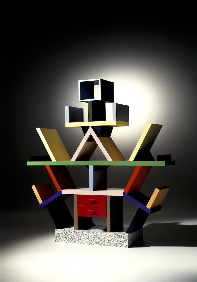 """Carlton"" by Ettore Sottsass, 1981. Photo: Aldo Ballo, Guido. Courtesy Memphis Srl"