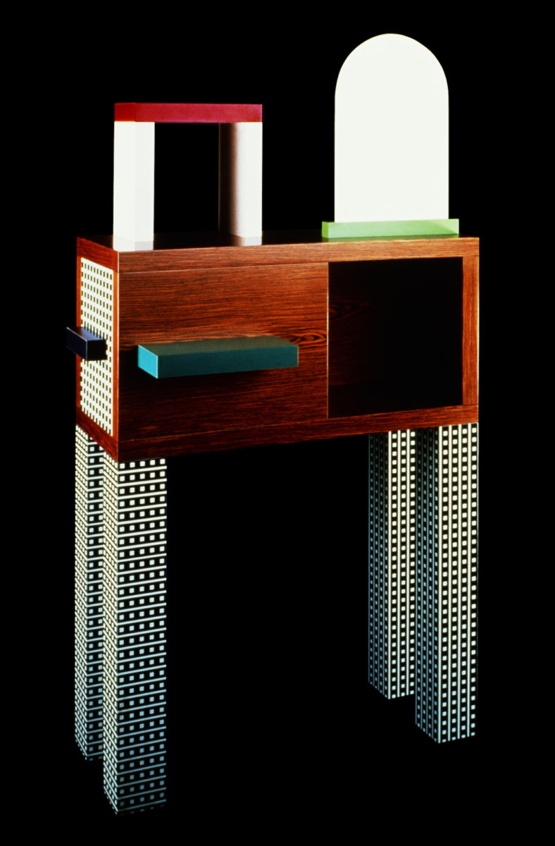 """Emerald"" by Natalie Du Pasquier 1985. Memphis Milano Collection. Photo: Roberto Gennari. Courtesy Memphis Srl"