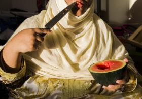 Farah Al Qasimi, S Eating Melon, 2016
