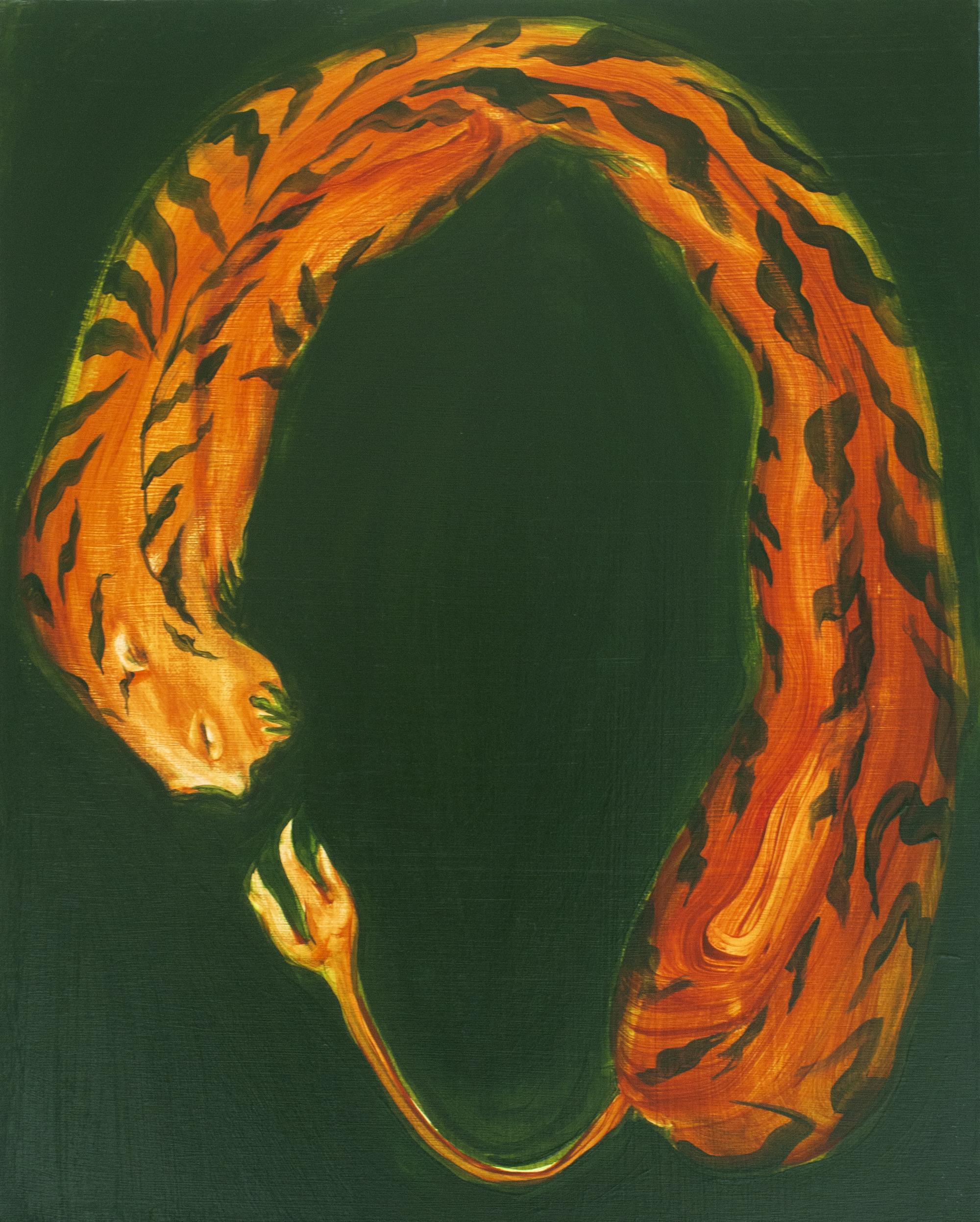 Aparna Sarkar, Untitled (Tiger Loop), 2019