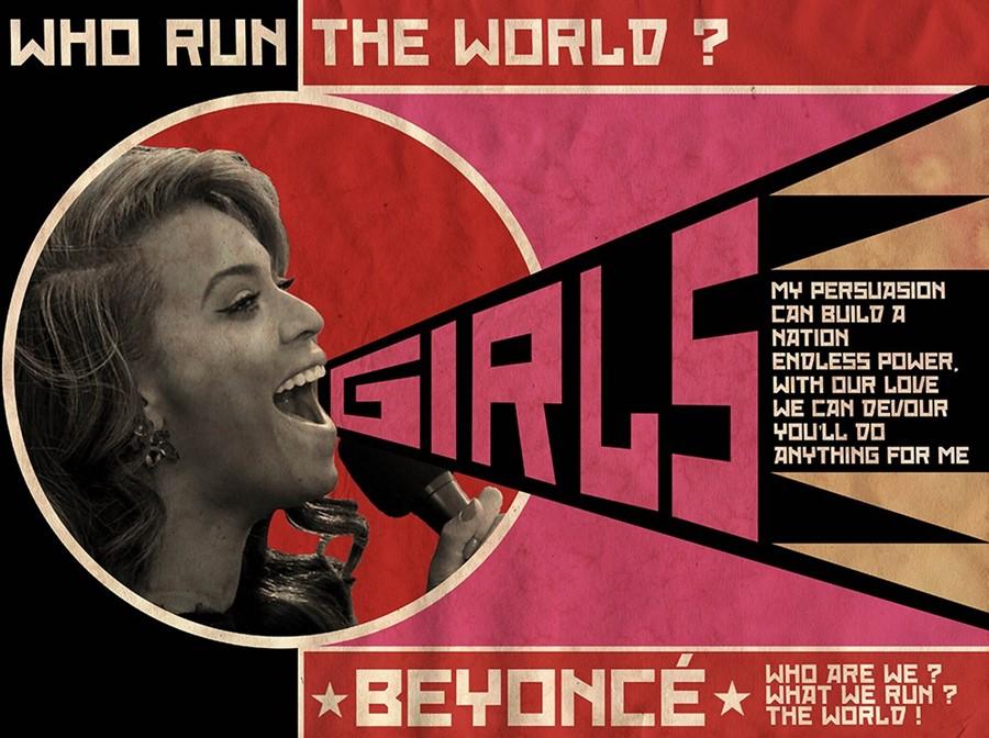 David Redon's Beyonce poster design
