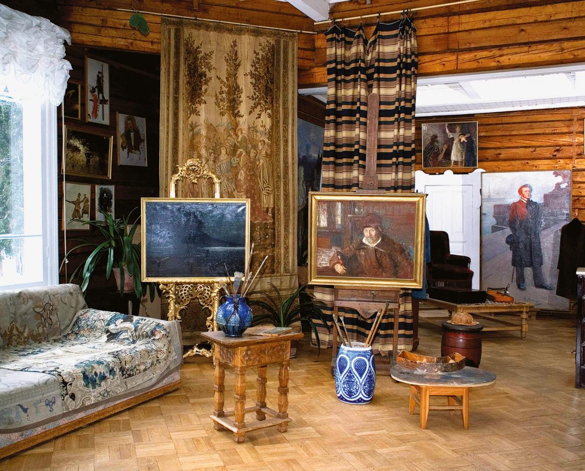 Ilya Repin, Penaty, St Petersburg, Russia. Image Eugeniy Gorokh, Courtesy of Russian Academy of Arts