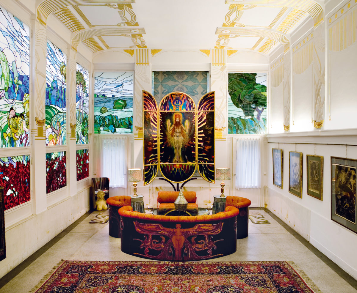 Otto Wagner Villa I, Vienna, Austria. Photo credit: Nikolaus Neureiter