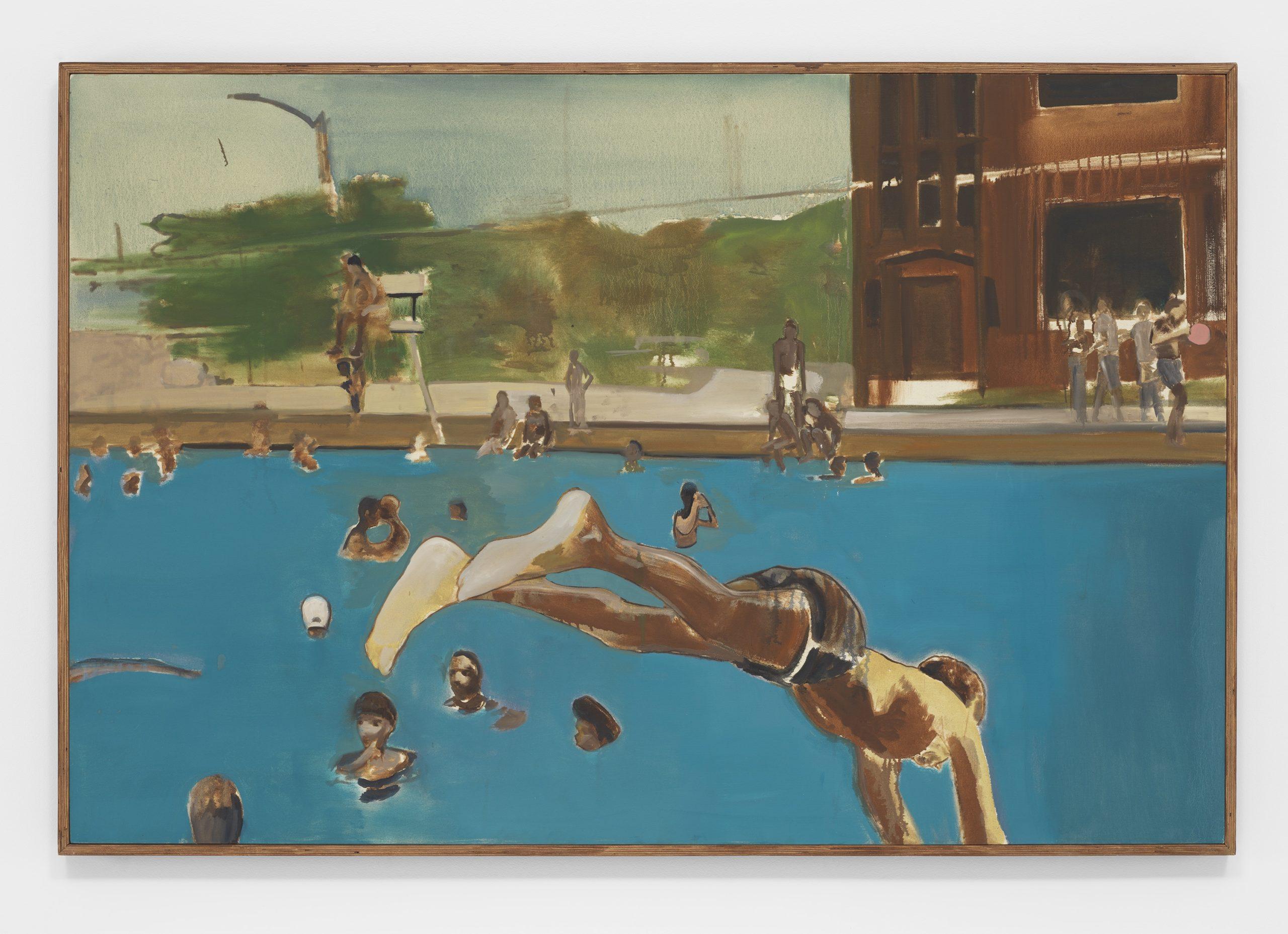 Noah Davis, 1975 (8), 2013, Private Collection of Martin H. Nesbitt and Dr. Anita Blanchard © The Estate of Noah Davis