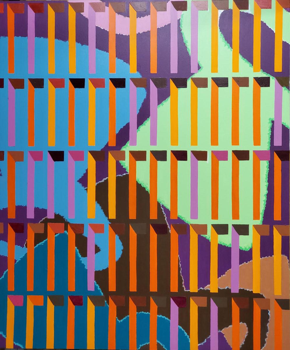 Dewey Crumpler, Bright Moments, 2020. Courtesy Jenkins Johnson Gallery