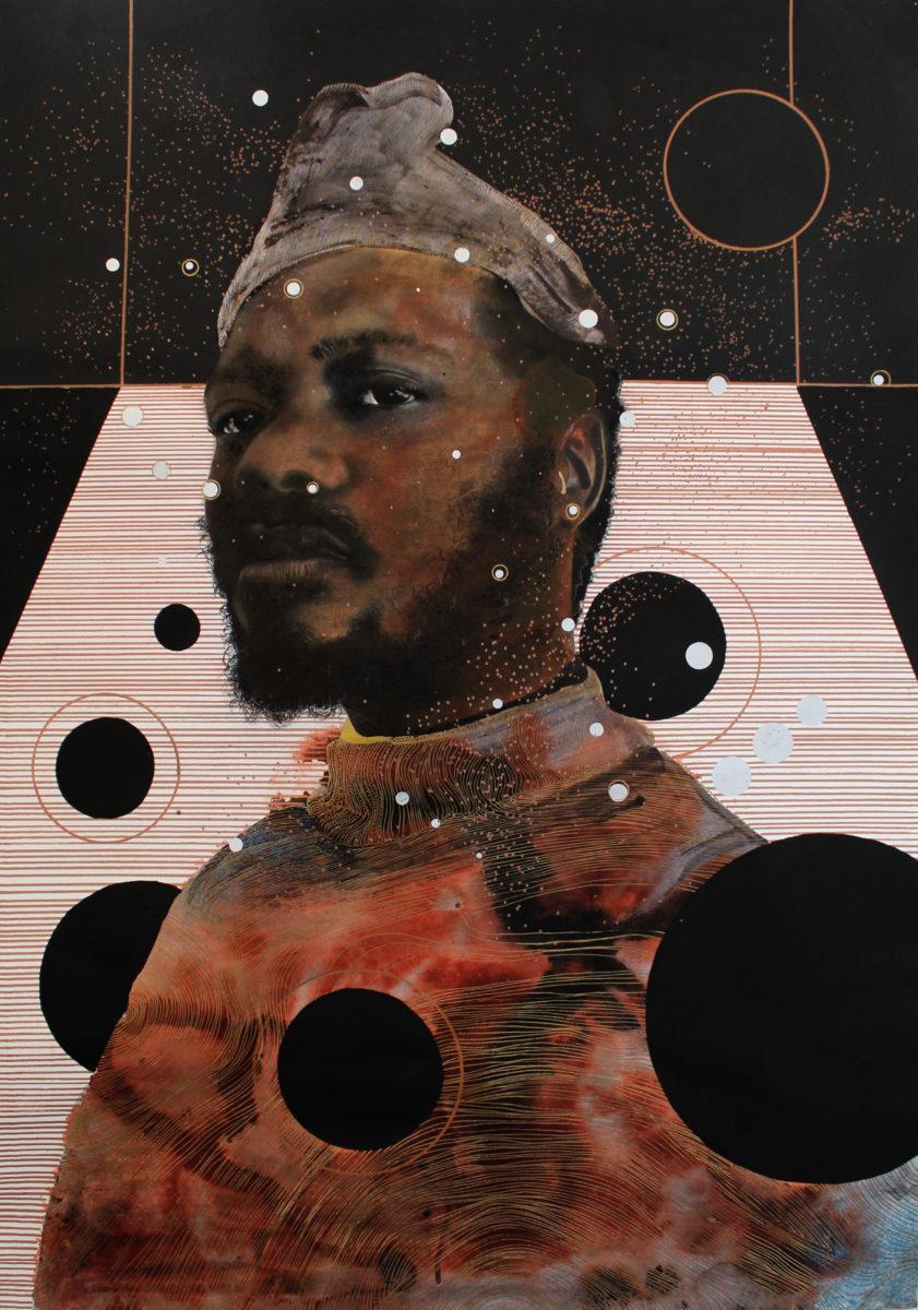 Manyaku Mashilo Sefela sa Kwantu, Invocation, 2020. Courtesy Unit London