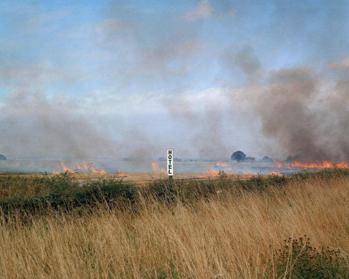 Paul Graham, Burning Fields, from A1