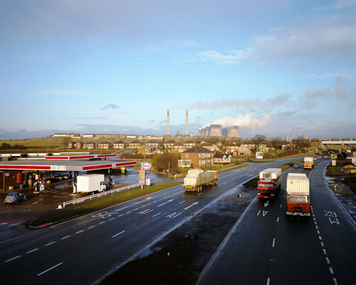 Paul Graham, Ferrybridge, from A1