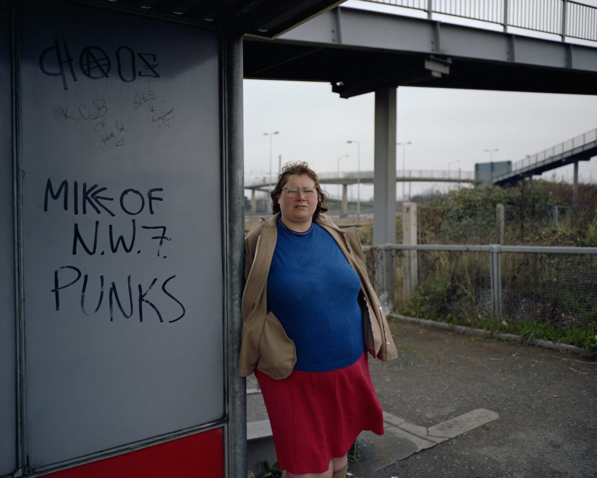 Paul Graham, Woman at Bus Stop, from A1