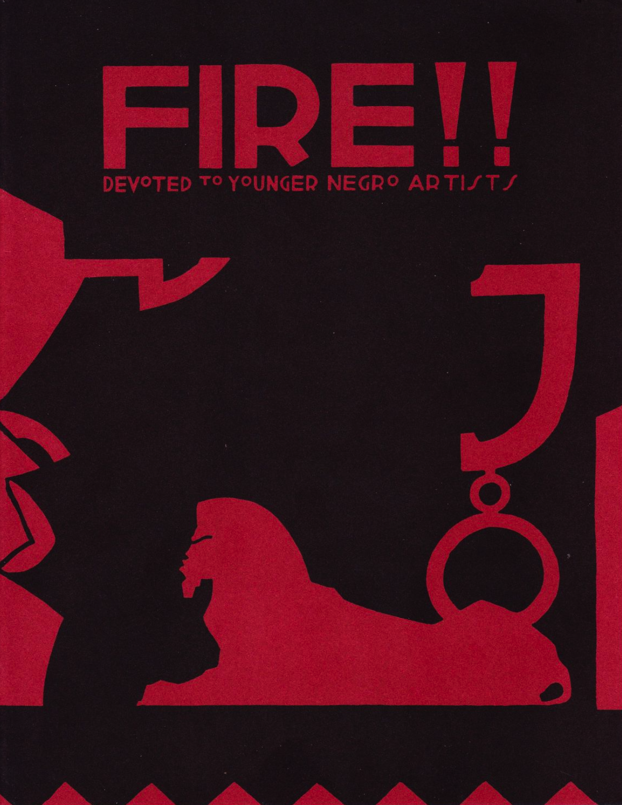 Back Cover of Fire!!, Courtesy of POC Zine Project