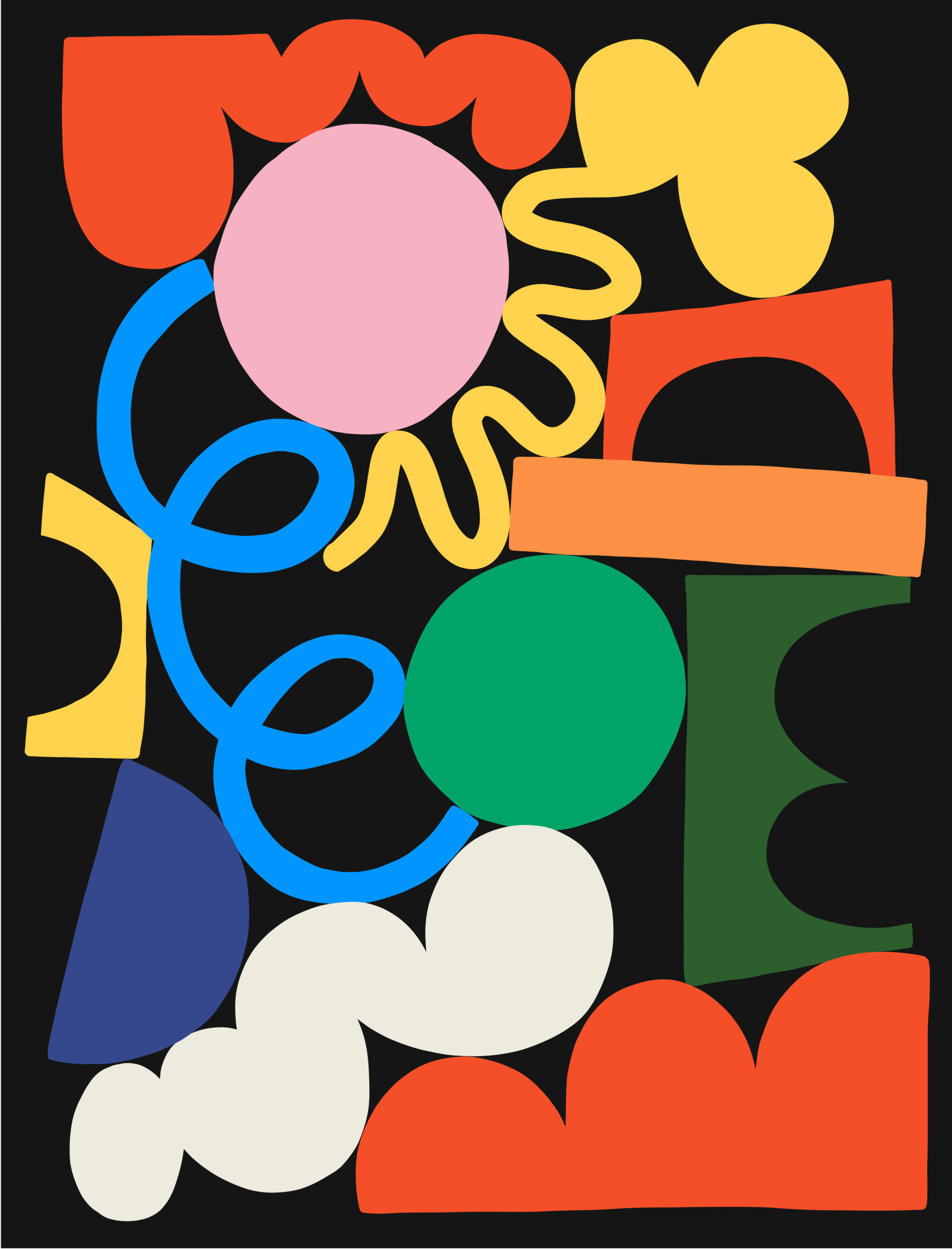 Micke Lindebergh, Shapes, 2020. Courtesy the artist
