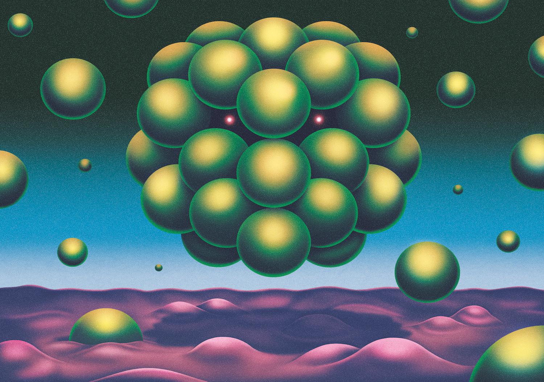 Derek Ercolano, illustration for Tidskrift magazine