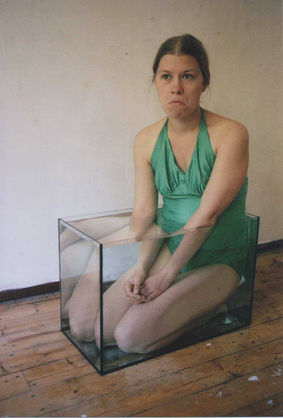 Emilia Bergmark, Self Portrait as Goldfish, 2012