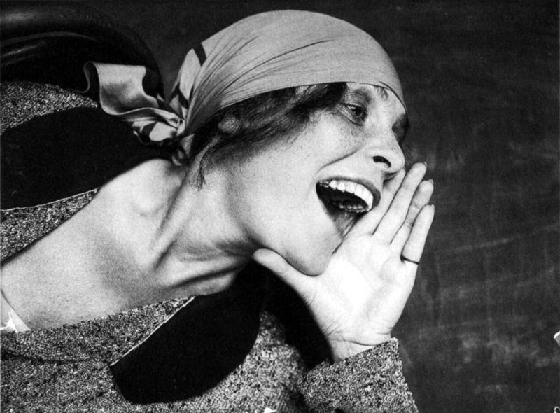 Aleksandr Rodchenko, Untitled portrait of Lilya Brik, 1924