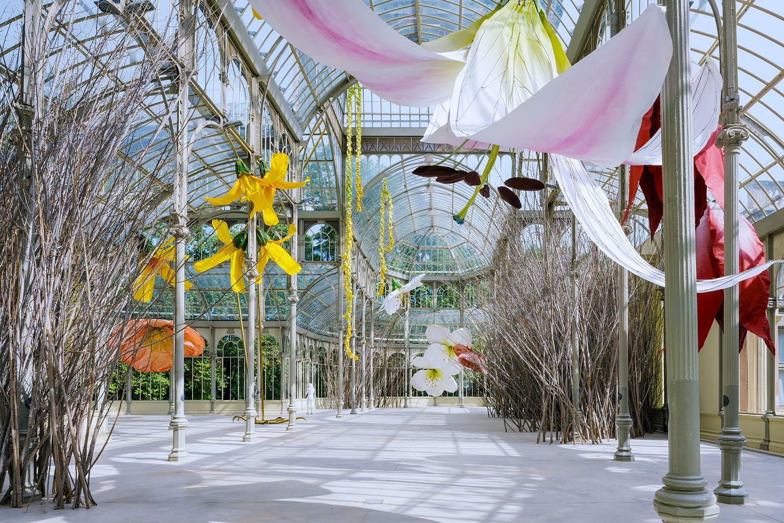 Exhibition view, Palacio de Cristal, Museo Reina Sofía, Madrid