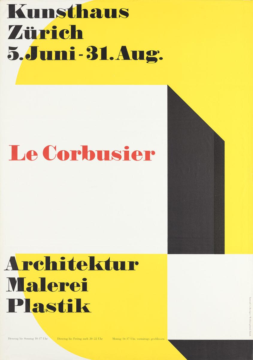 22_Le Corbusier und Zuerich