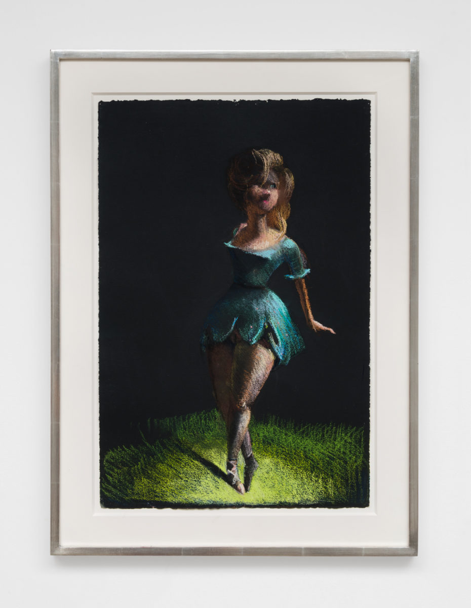Lisa Yuskavage, Dancer with Blue Tutu, 1994. Courtesy of the artist and GAVLAK Los Angeles / Palm Beach