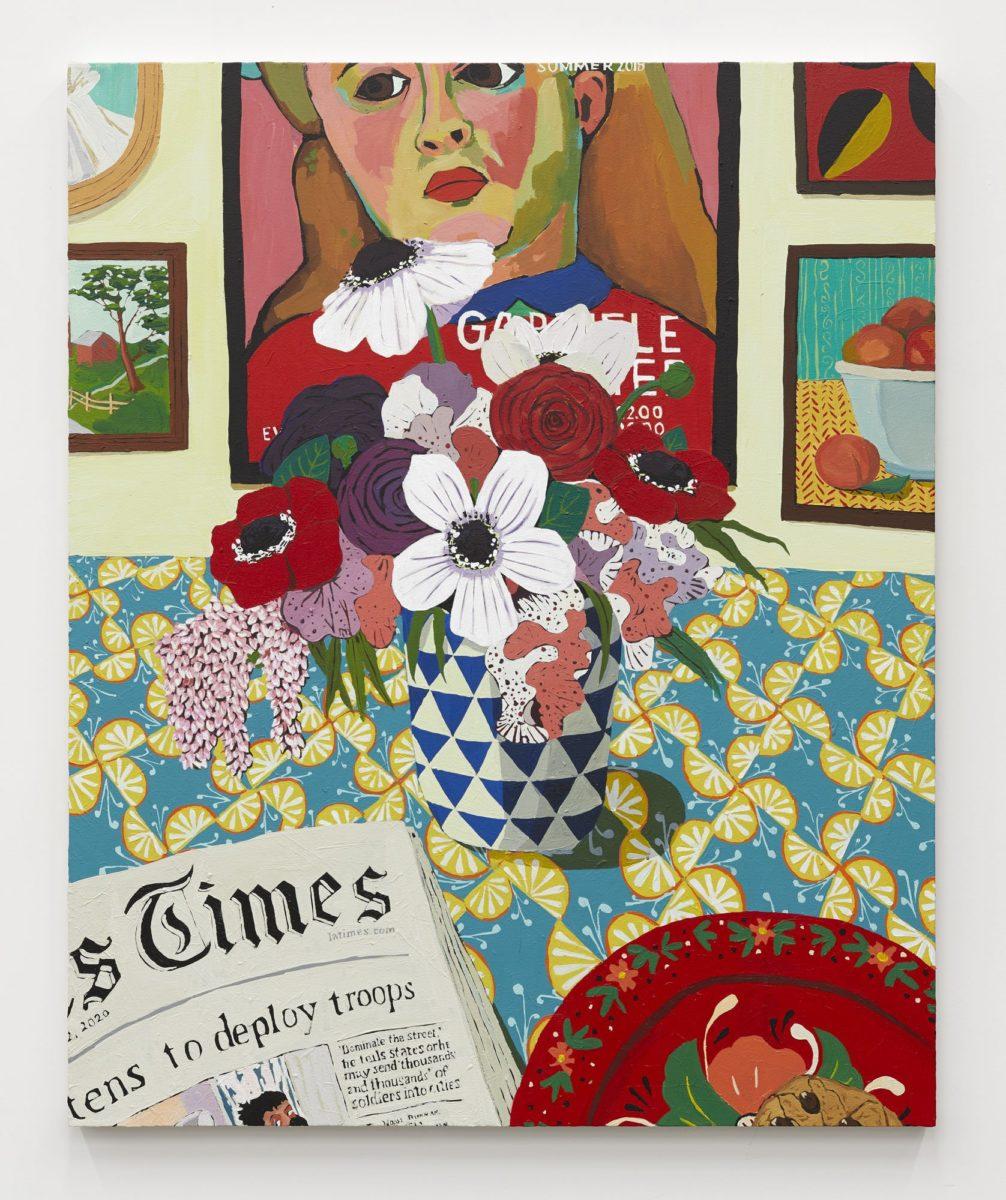 Hilery Pecis, Maysha's Flowers, 2020