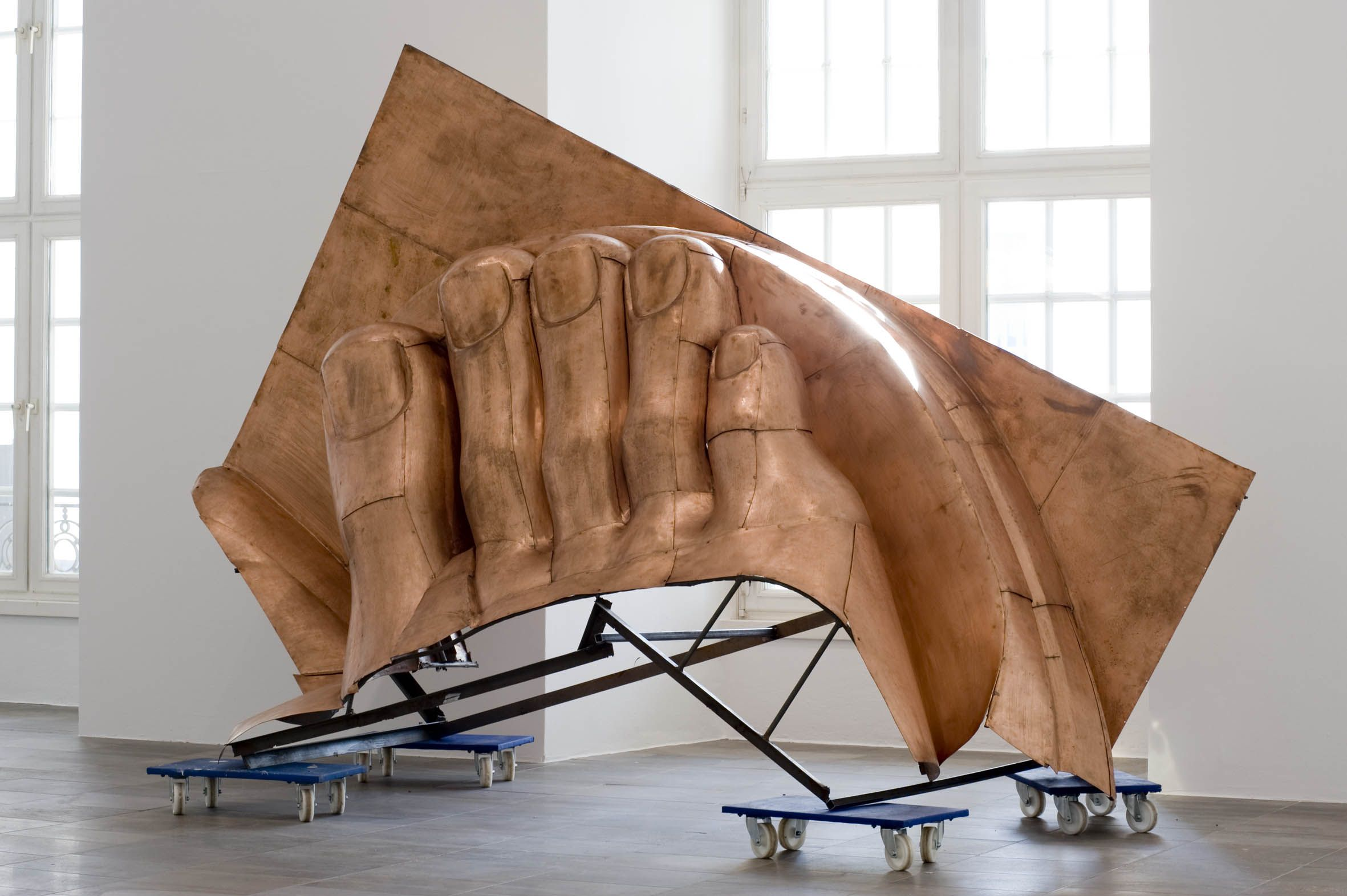 Danh Vo, WE THE PEOPLE (detail), 2011. Courtesy of Galerie Chantal Crousel. Photo: Nils Klinger