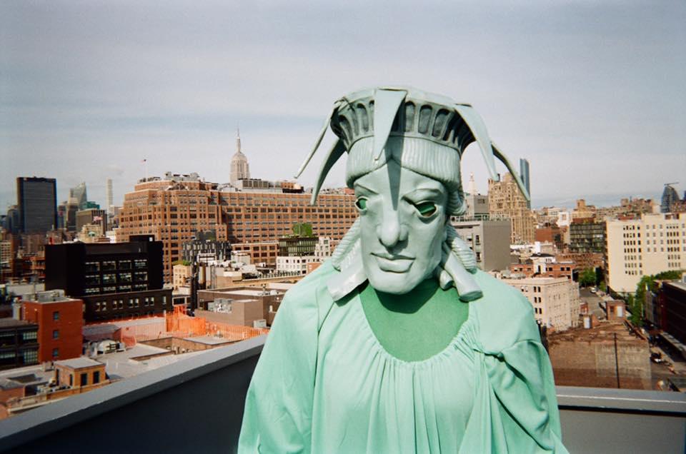 Lady Liberty, by Elisabeth Ligonnet Lam