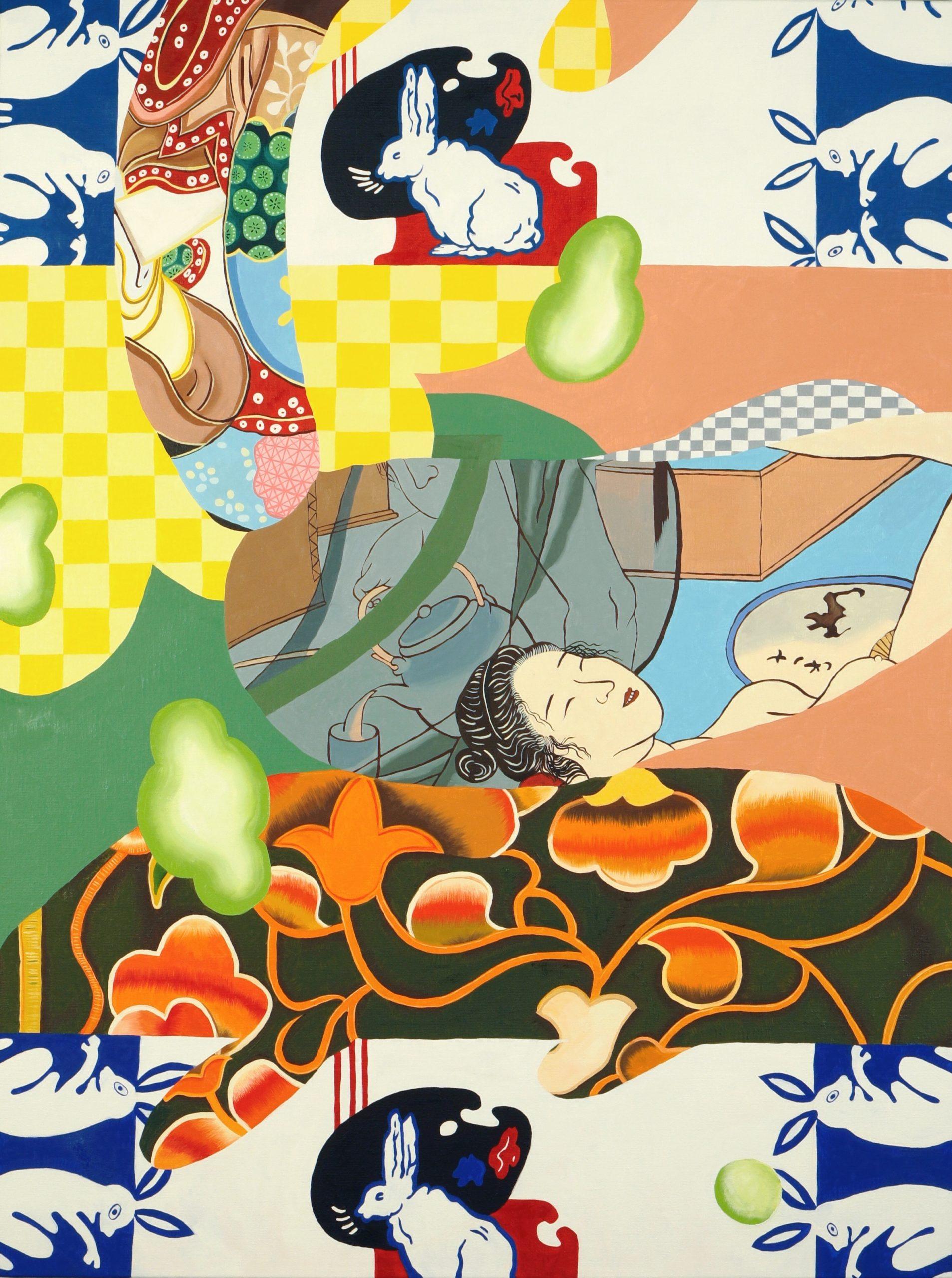 Ziping Wang, Painting for the unsing bird, 2020