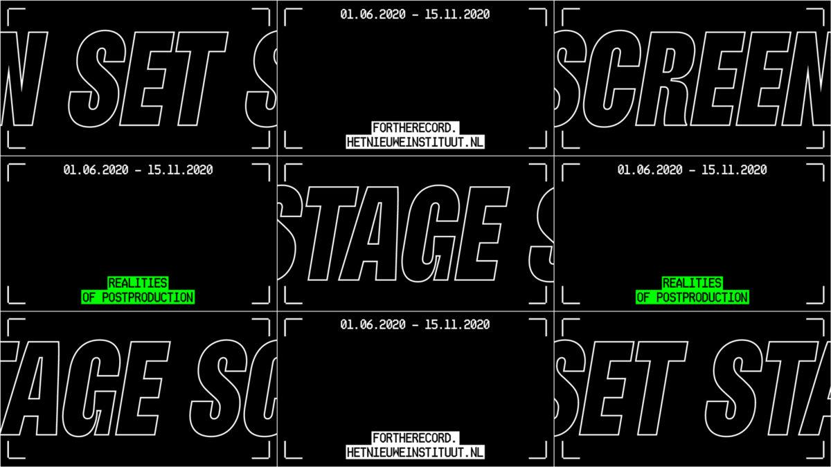 Koos Breen, Set Stage Screen project