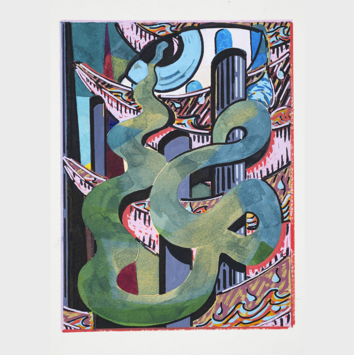 Anna Liber Lewis signed and limited edition print for Elephant Kiosk
