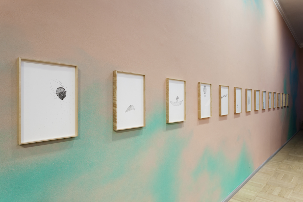Exhibition view: Flo Kasearu, Cut Out of Life at Tallinn Art Hall, 2020. Photos by Paul Kuimet
