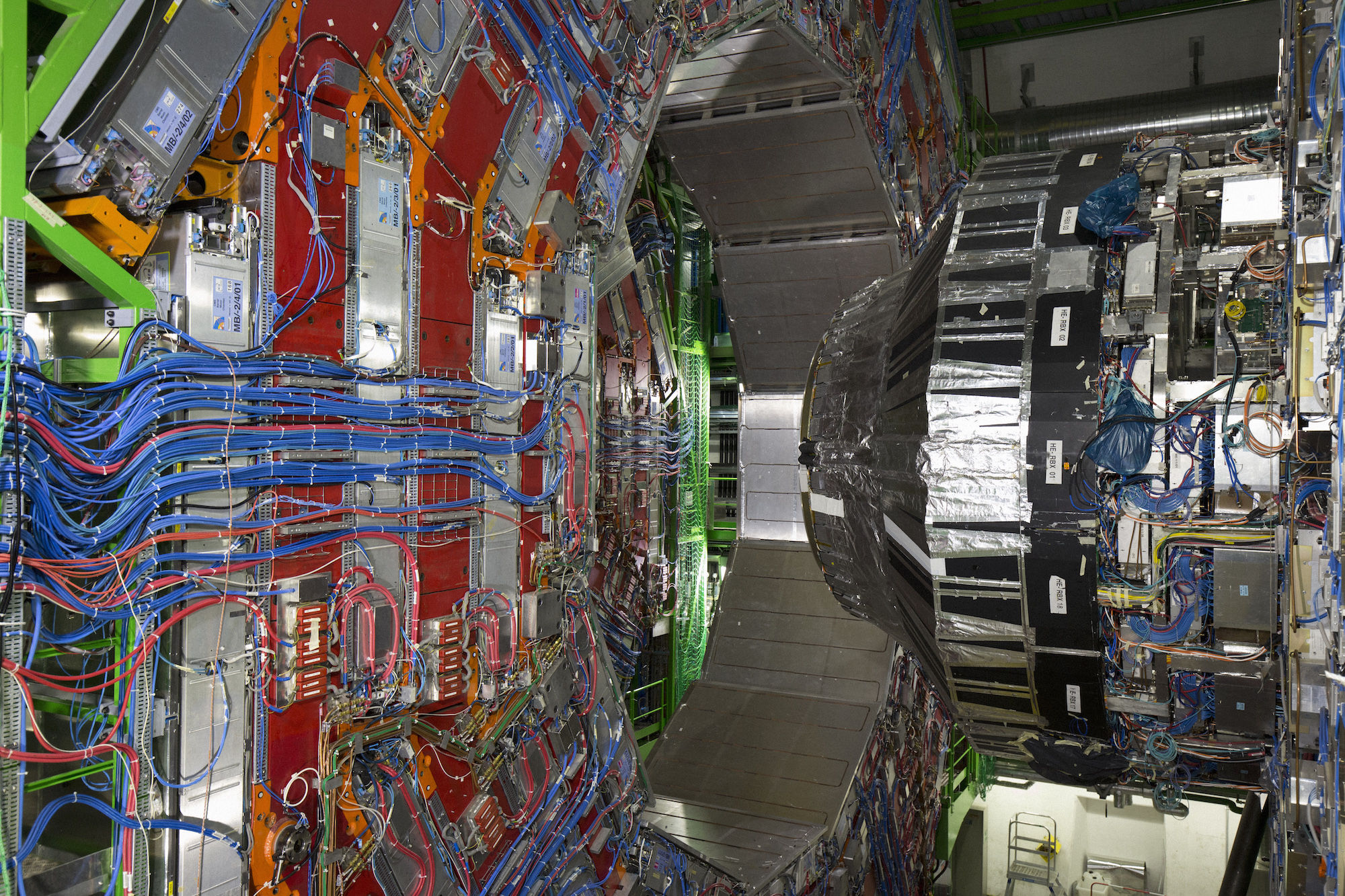 CMS at Cern photographed by Miguel Santa Clara for Elephant