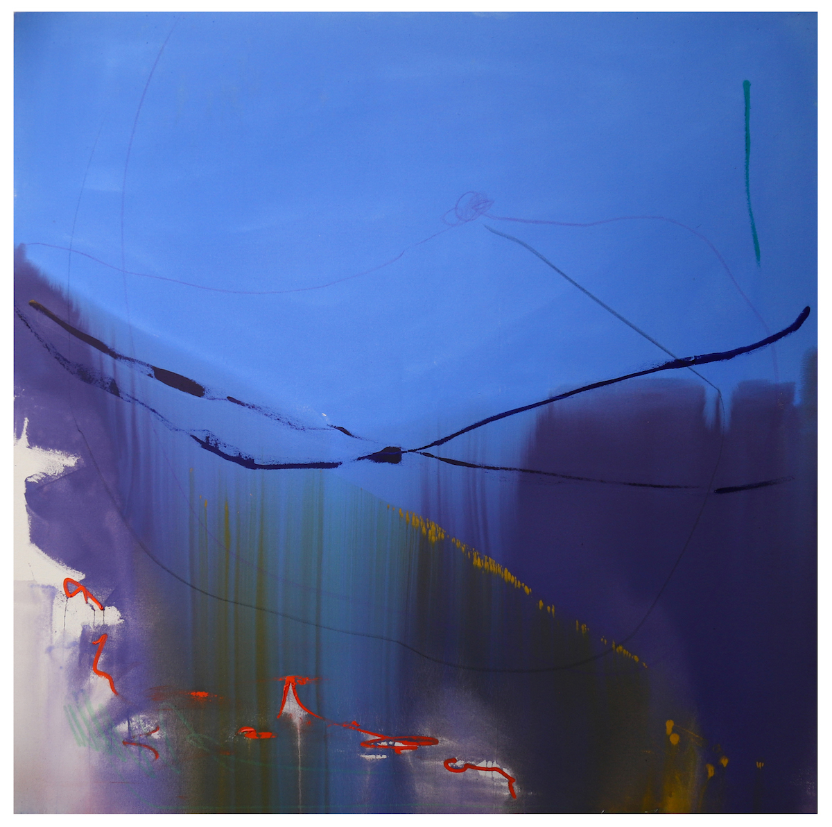 Crystal Fischetti, Light'n the Darkness, 2020. Courtesy of the artist and Grove Square Galleries