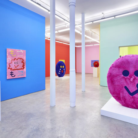 Installation View - Misaki Kawai, Moko Moko Doki Doki. Image courtesy of The Hole