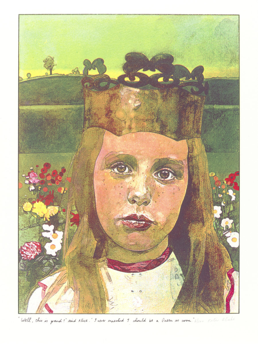 PrintBy Peter Blake from the suite illustrating