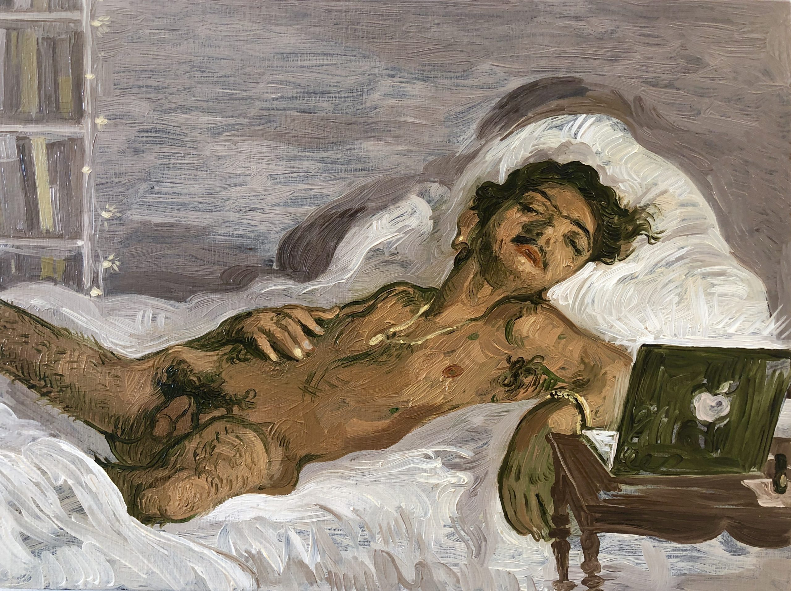 Salman Toor, Sleeping Boy