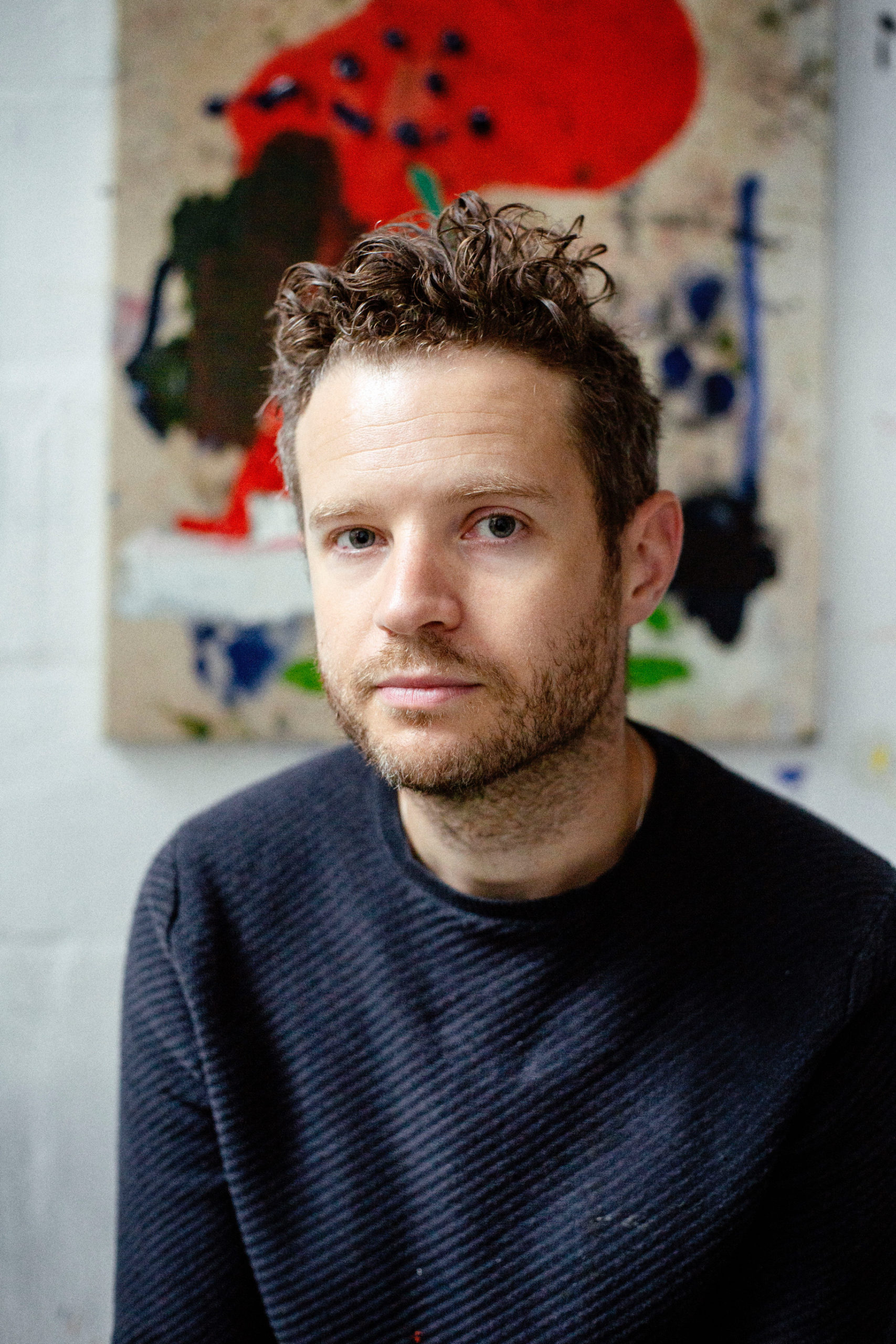 Portrait of artist Tim Garwood by James Frederick Barrett