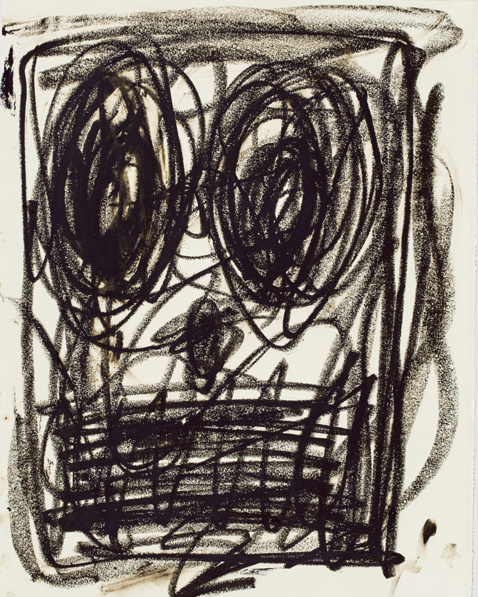 Rashid Johnson, Untitled Anxious Drawing, 2017 © the artist / Photo: Martin Parsekian