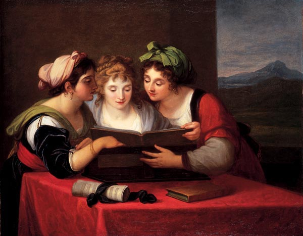 Angelica Kauffmann, Three Singers, 1795 © Collection Museum of Fine Arts Chur / Wikimedia Commons