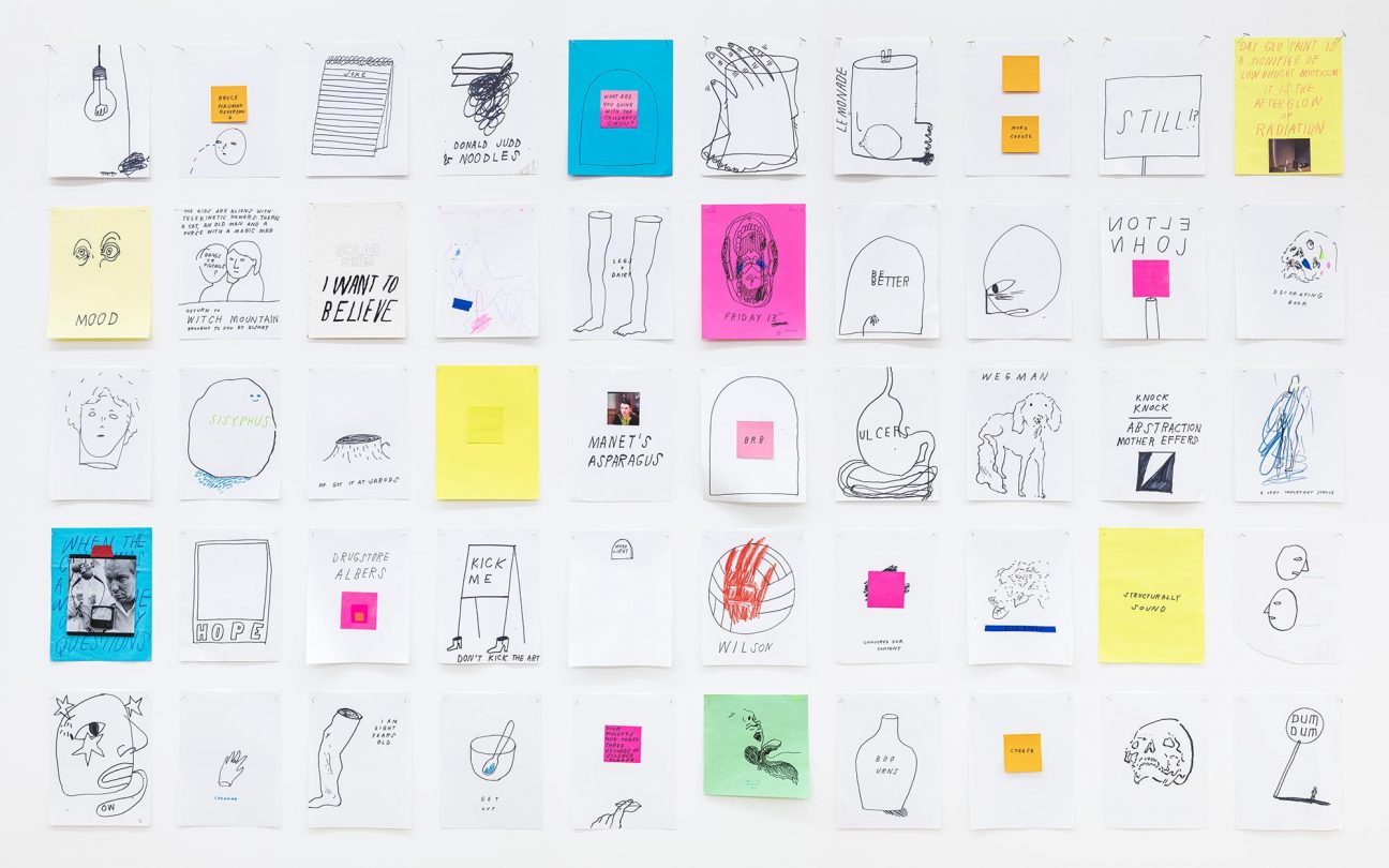 Erin Washington, Excerpts of '100 Drawings in One Hour,' 2019-2020
