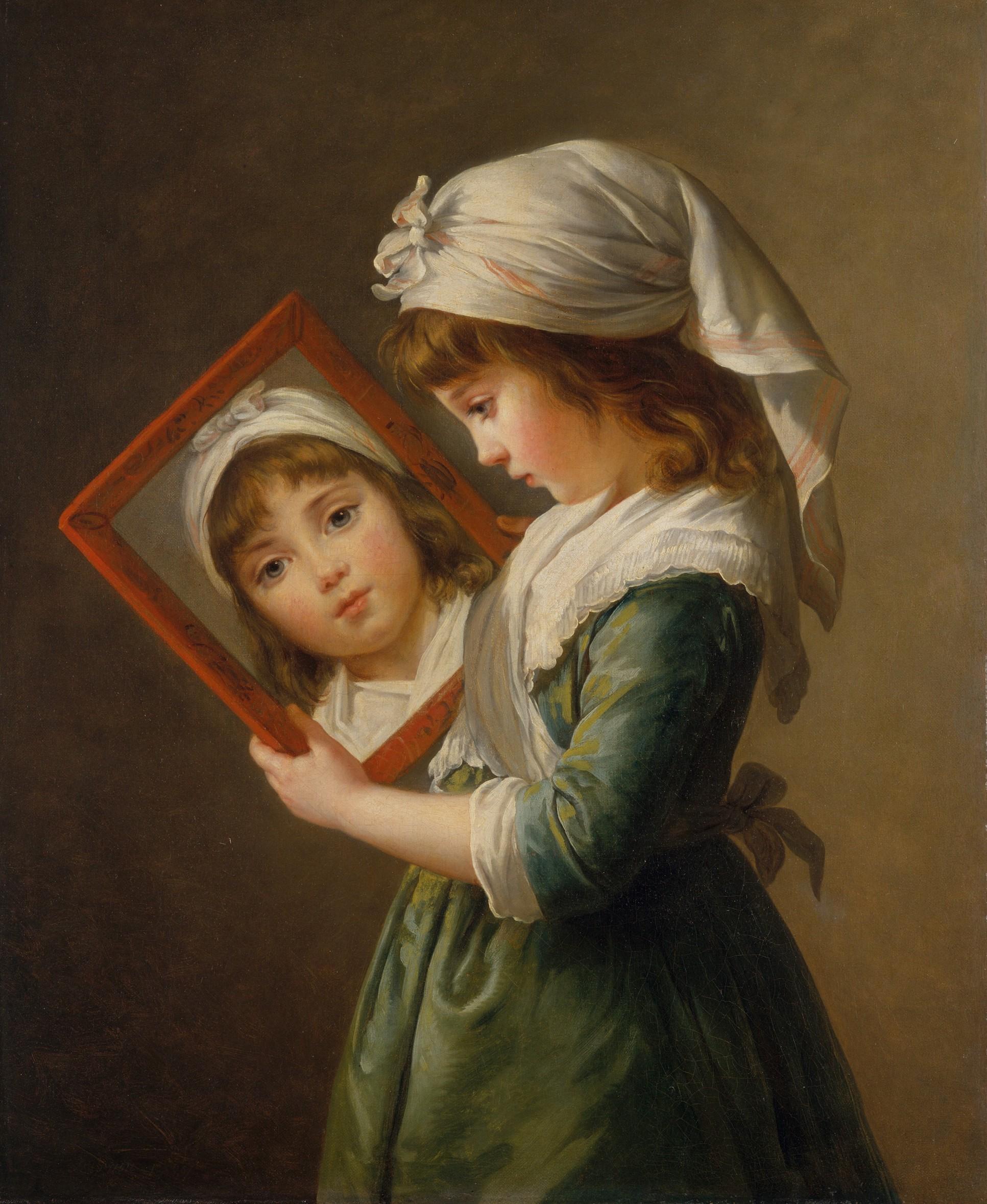 Elisabeth Vigée-Lebrun, The Artist's Daughter, c. 1787 © Metropolitan Museum of Arts / Wikimedia Commons