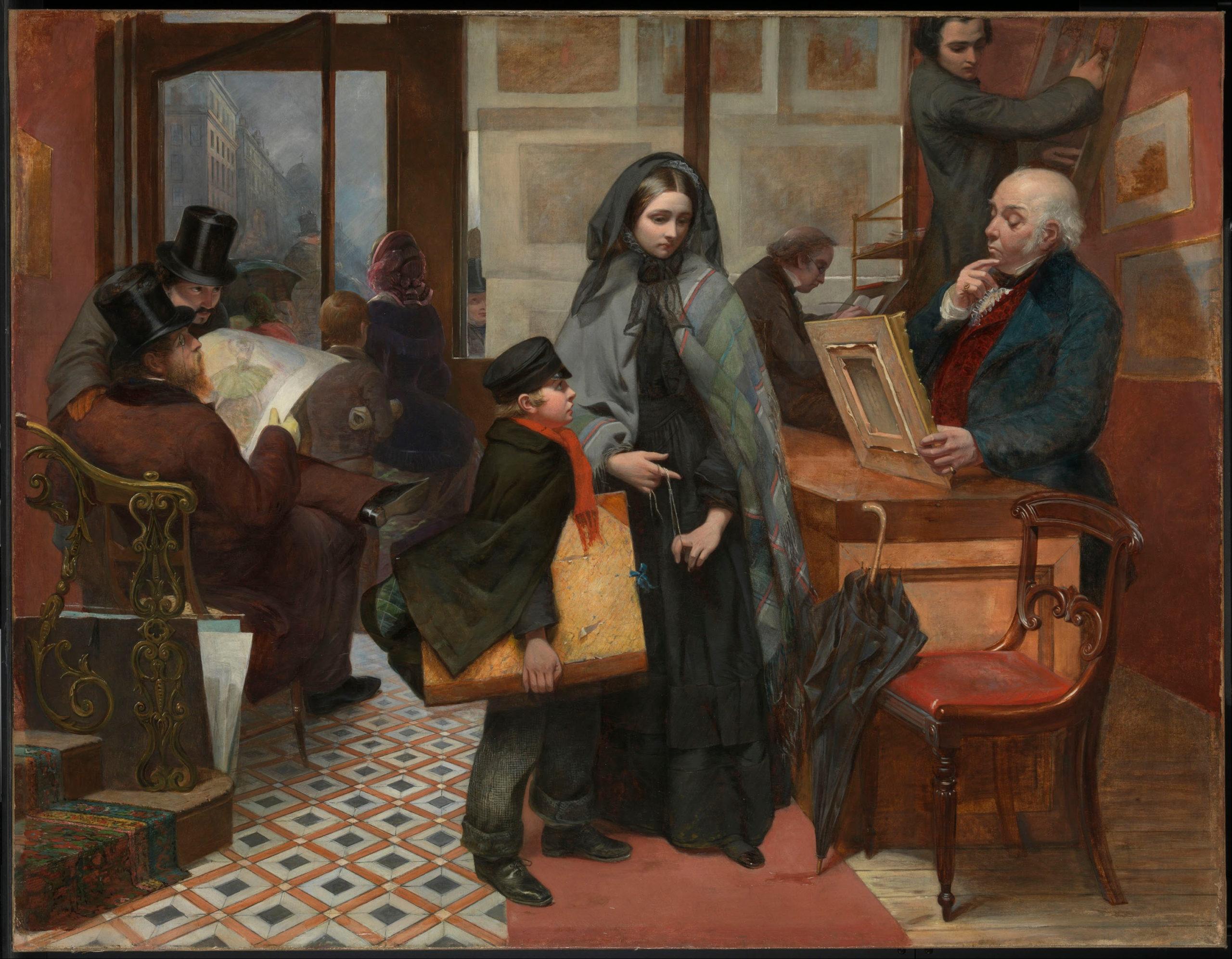 Emily Mary Osborn, Nameless and Friendless, 1857 © Tate Britain / Wikimedia Commons